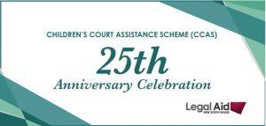 Children's Court Assistance Scheme 25th Anniversary – 2020
