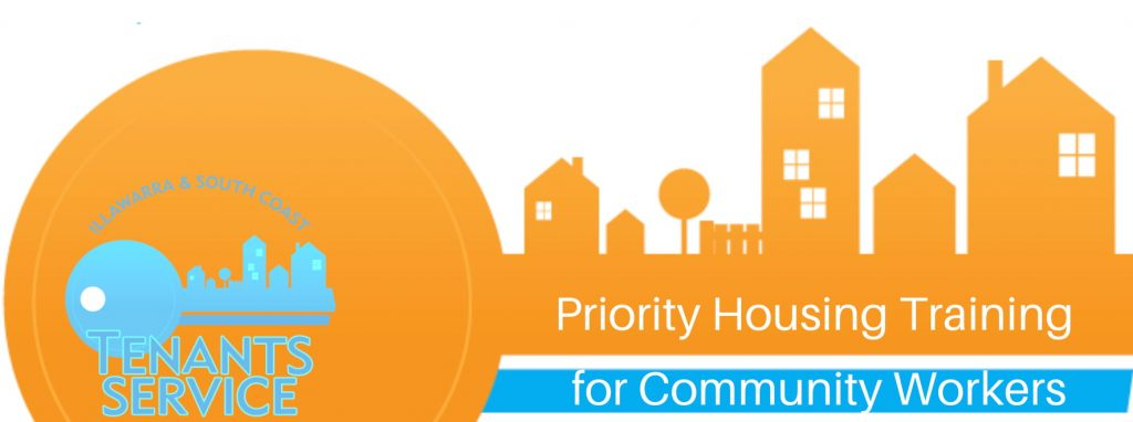 Read more about the article Priority Housing Training for Community Workers – 14 April 2021