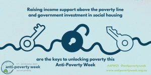 Read more about the article Anti-Poverty Week 17-23 October 2021